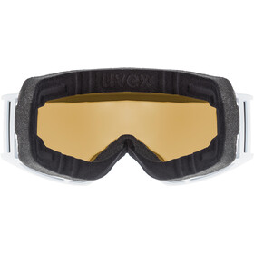 UVEX g.gl 3000 TO Gafas, white mat/fullmirror silver